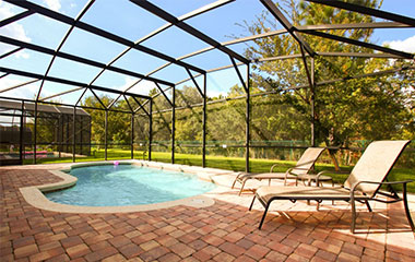 Orlando vacation home rentals for Ipg pool show